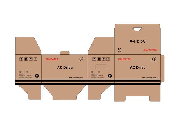 2 frequency inverter vsd carton design - چاپ کارتن