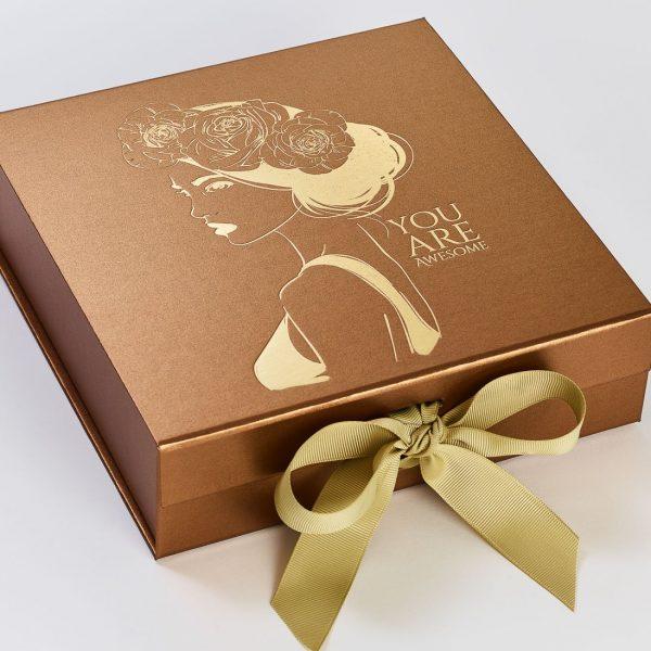 Copper Box with Gold Foil logo and Gold Ribbon c06ada3e 728c 4b15 9ccc 2ab24f4423d9 600x600 - طلاکوب چیست