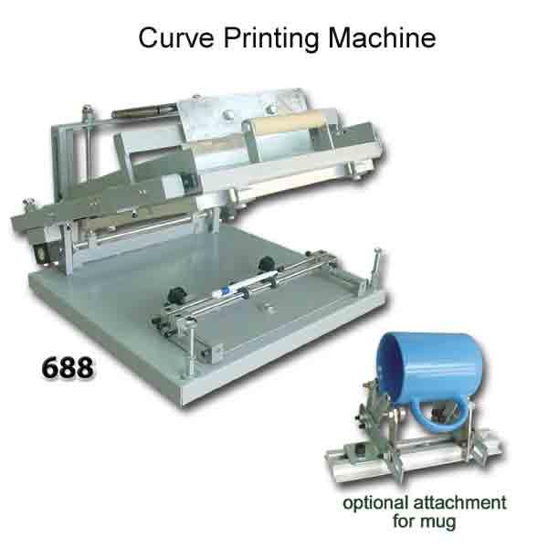 Curve Printing Machine 6881354791166 www.altenay.com  - آموزش چاپ سیلک