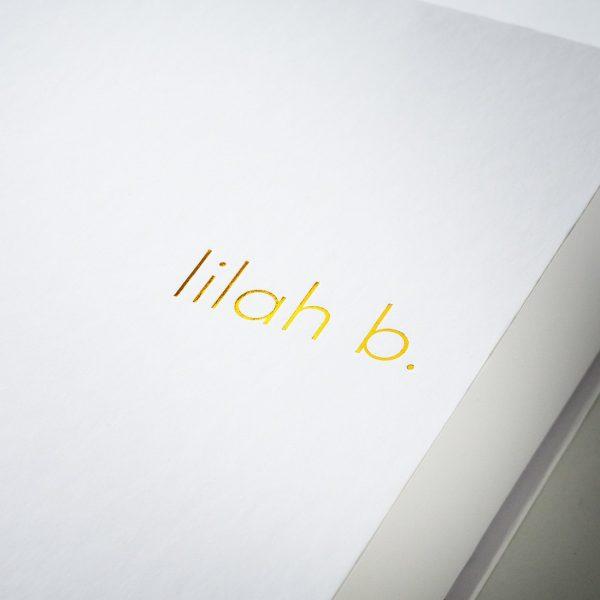 Gold foil onto white lilian b 600x600 - طلاکوب چیست