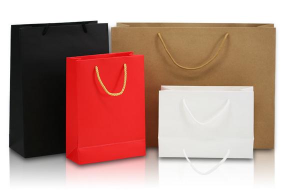 High Quality Washable Shopping Food Kraft Brown Paper Bag 4 - طلاکوب چیست