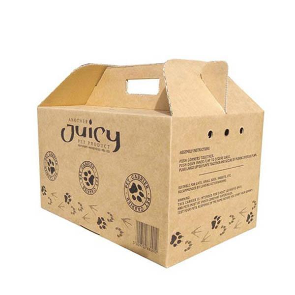 PET Carrier Carton Box - چاپ کارتن