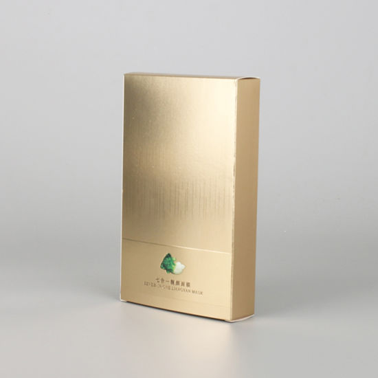 Paper Packing Skin Care Box with Gold Hot Stamping - طلاکوب چیست
