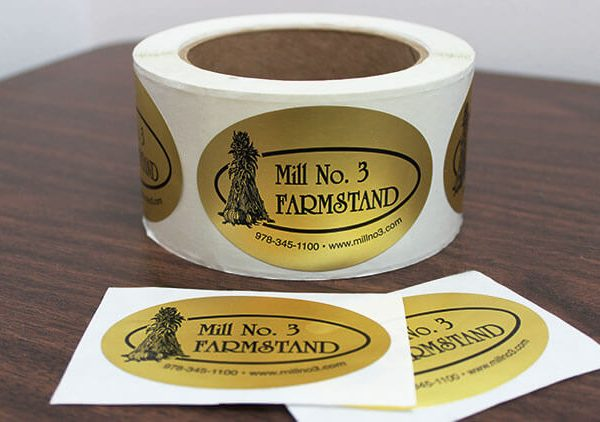 StickerYou GoldFoilLabels 3 600x422 - چاپ لیبل
