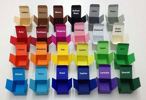 colour boxes - چاپ جعبه