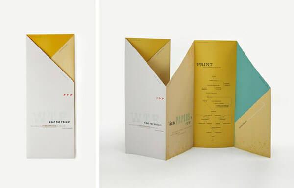 creative brochure designs inspiration 2 - چاپ بروشور