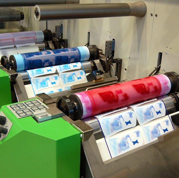 flexo printing 600x598 - انواع چاپ