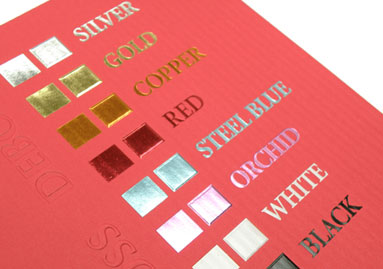 foil printing - طلاکوب چیست
