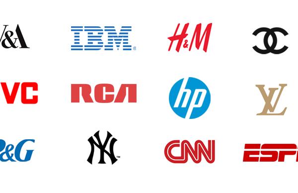 lettermark logos initials examples 600x388 - لوگو چیست