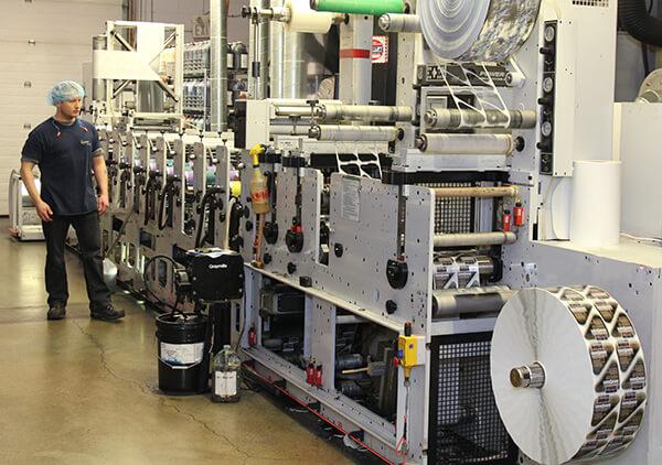 lintec flexographic label press operator - فلکسو