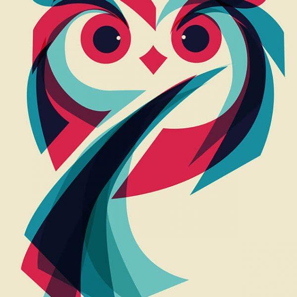 owl fb 600x600 - تصویر سازی