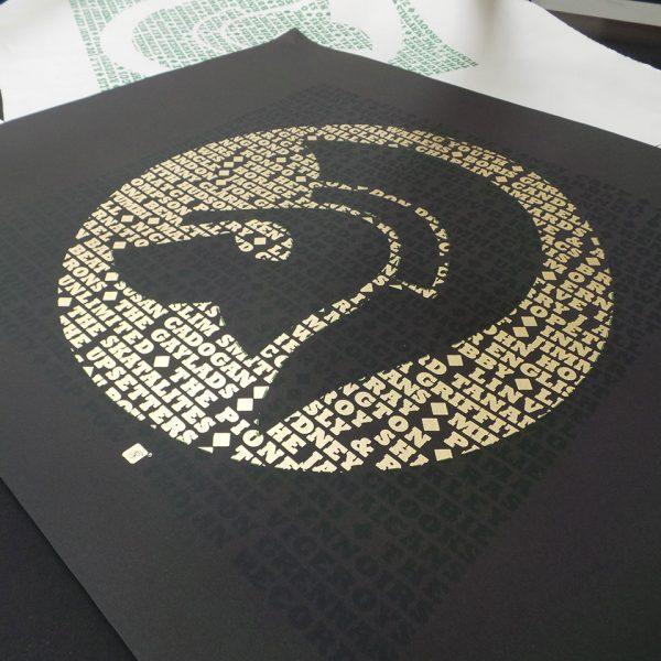trojan screenprint black2 600x600 - طلاکوب چیست