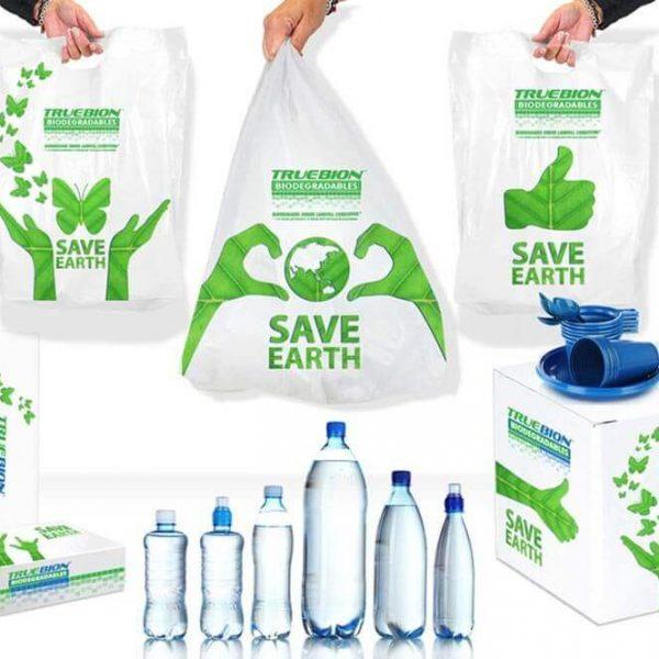 پلاستیک سبز15 600x600 - ساک دستی بازیافت پذیر